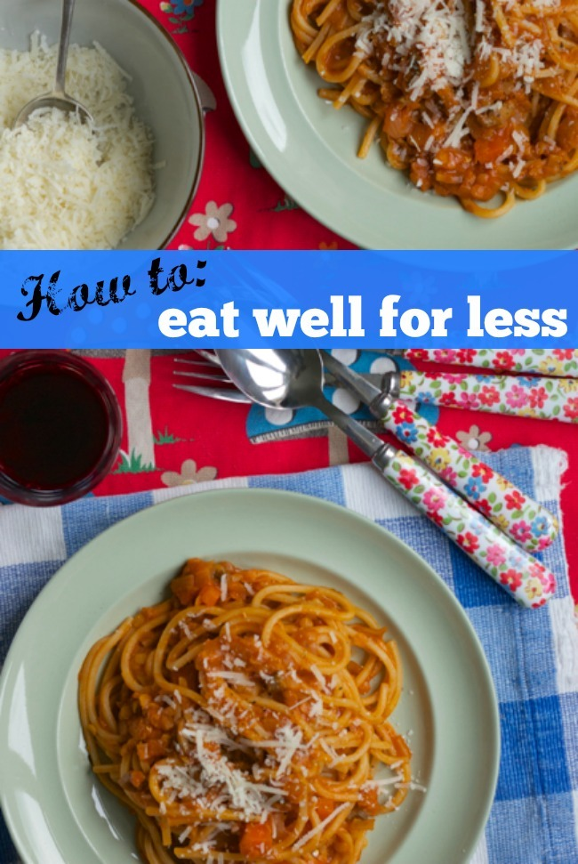 How to: eat well for less