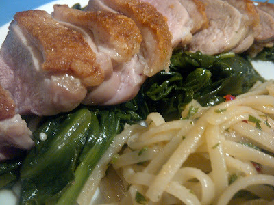HEDONIST: Staying In With Duck Breast & Linguine