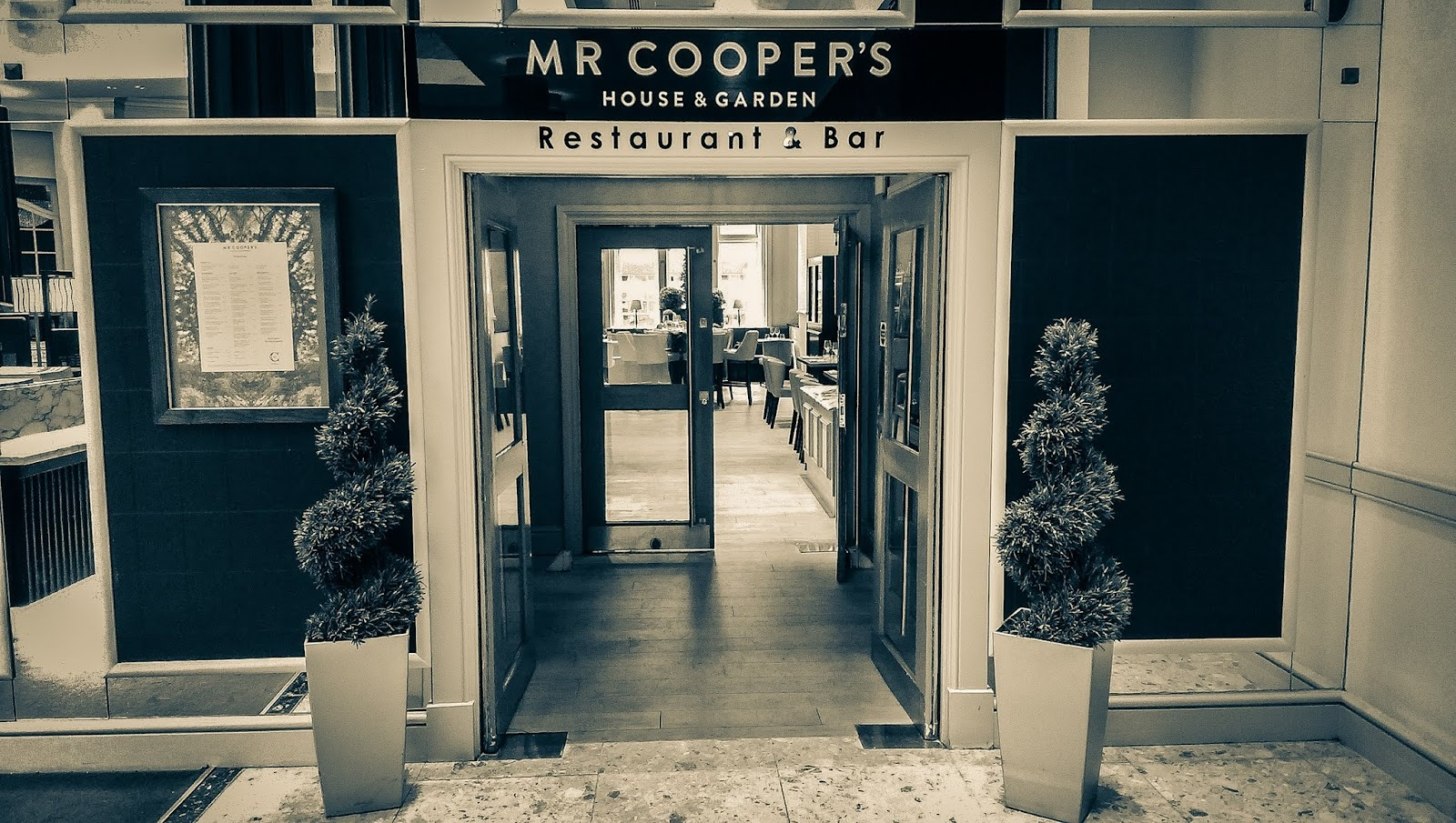 Restaurant Review: Mr Cooper's House and Gardens, Manchester