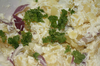 slimming world potato salad with quark