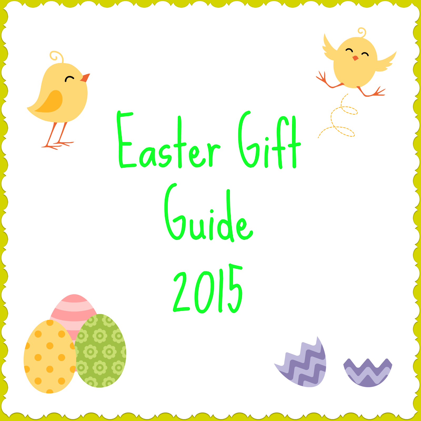 Easter Gift Guide 2015 - Easter Egg Alternatives