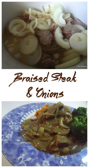 Braised Steak & Onions