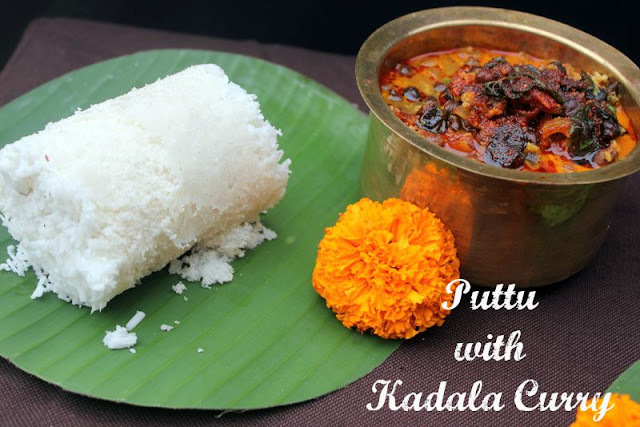 Puttu with Kadla Curry