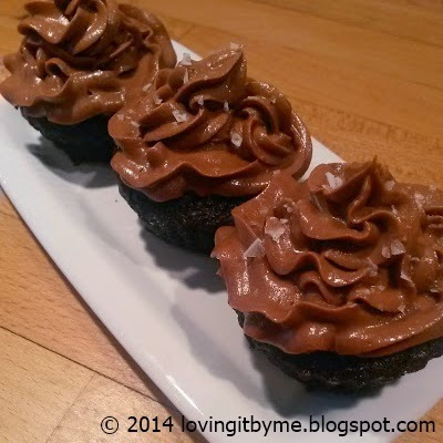 Choklad cupcakes med Nutella frosting