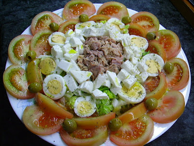 Ensalada Decorada