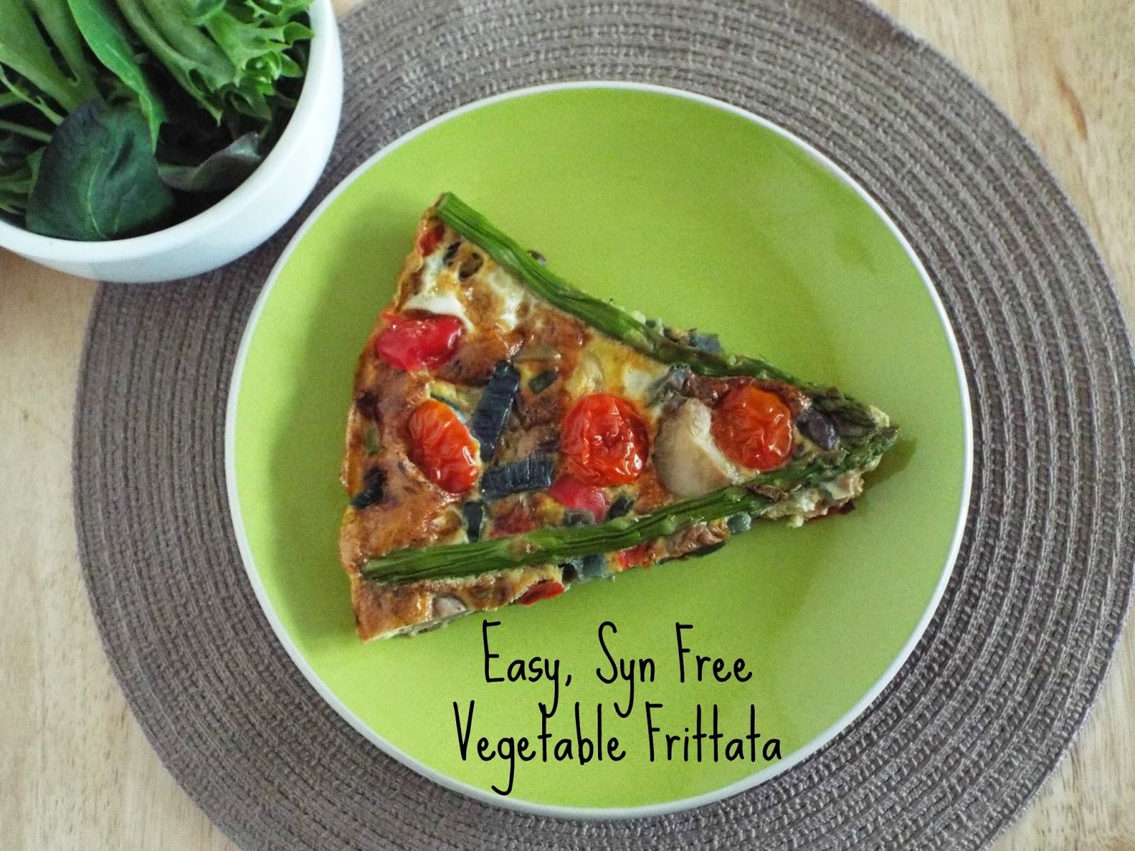Easy Vegetable Frittata - Family Favourites