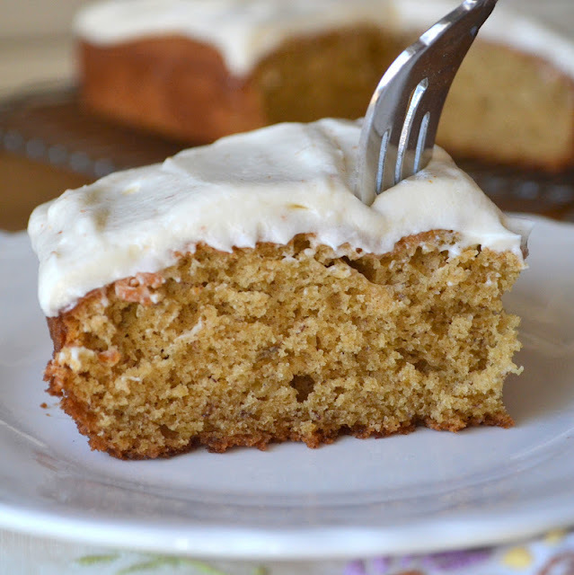 Banana Rum Cake with Brown Butter Frosting & a Joy the Baker Cookbook Review