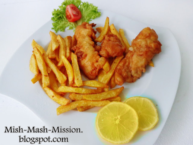 Fish and chips (fish 'n' chips, ryba z frytkami)