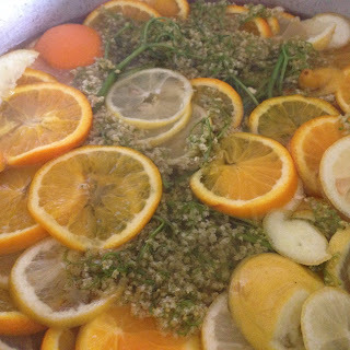 Lemon Orange and Elderflower Marmalade
