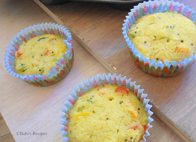 Savory  Muffins  | Eggless savory vegetable Muffins