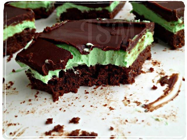 Secret Recipe Club: Grasshopper Bars