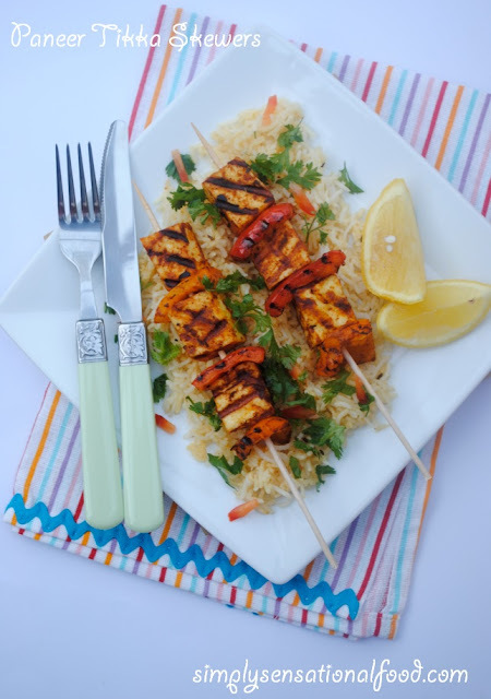 Paneer Tikka Skewers paired with Yeni Raki  - sponsored video