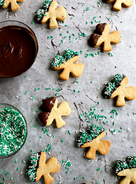 Bailey's cookies. St. Patrick's Day