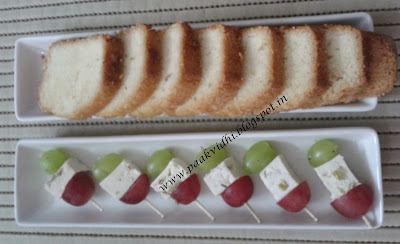 GRAPES TOFU SKEWER