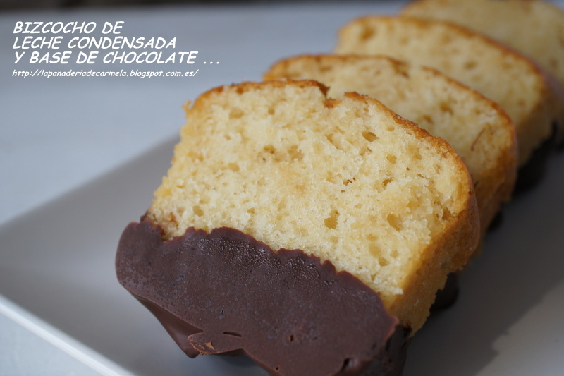 Bizcocho de leche condensada y base de chocolate por Sunflower