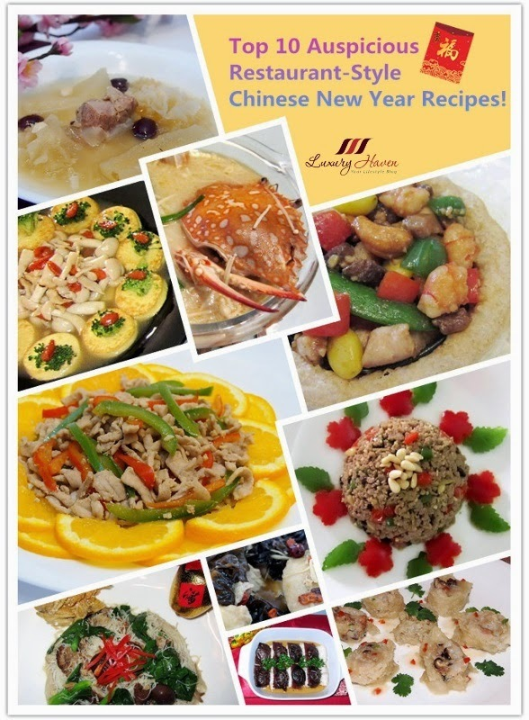 Top 10 Auspicious Restaurant-Style Chinese New Year Recipes!
