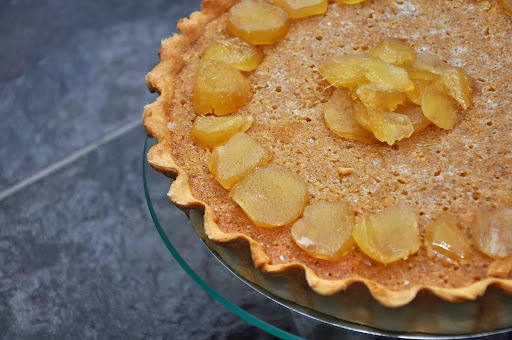 Ginger Treacle Tart