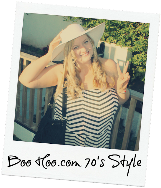 BooHoo.Com 70's Inspired Outfit Challenge #WeAreUs