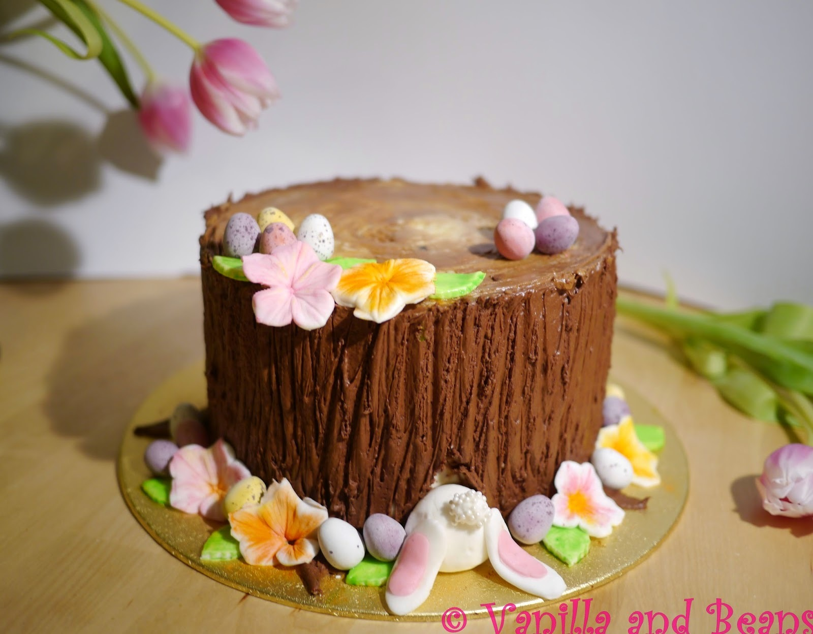 Ostertorte | Our Easter Cake (Hidden bunny)