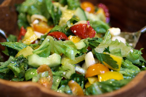 zingy side salad