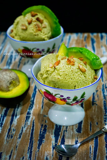 Avocado Ice - Cream aka Es Krim Alpukat