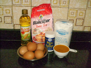 ingredientes de torta de parchita