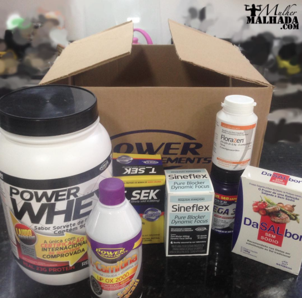 Confira o Super Kit de Suplementos da Power Supplements