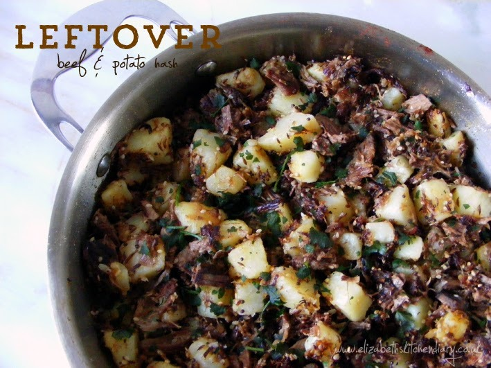 use up leftover roast beef hash