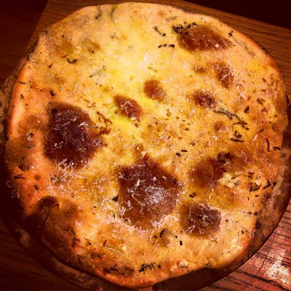FABULOUS GARLIC AND ROSEMARY FLATBREAD
