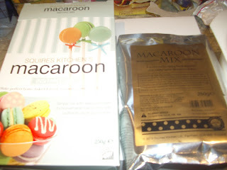 Macaroons - from a packet mix