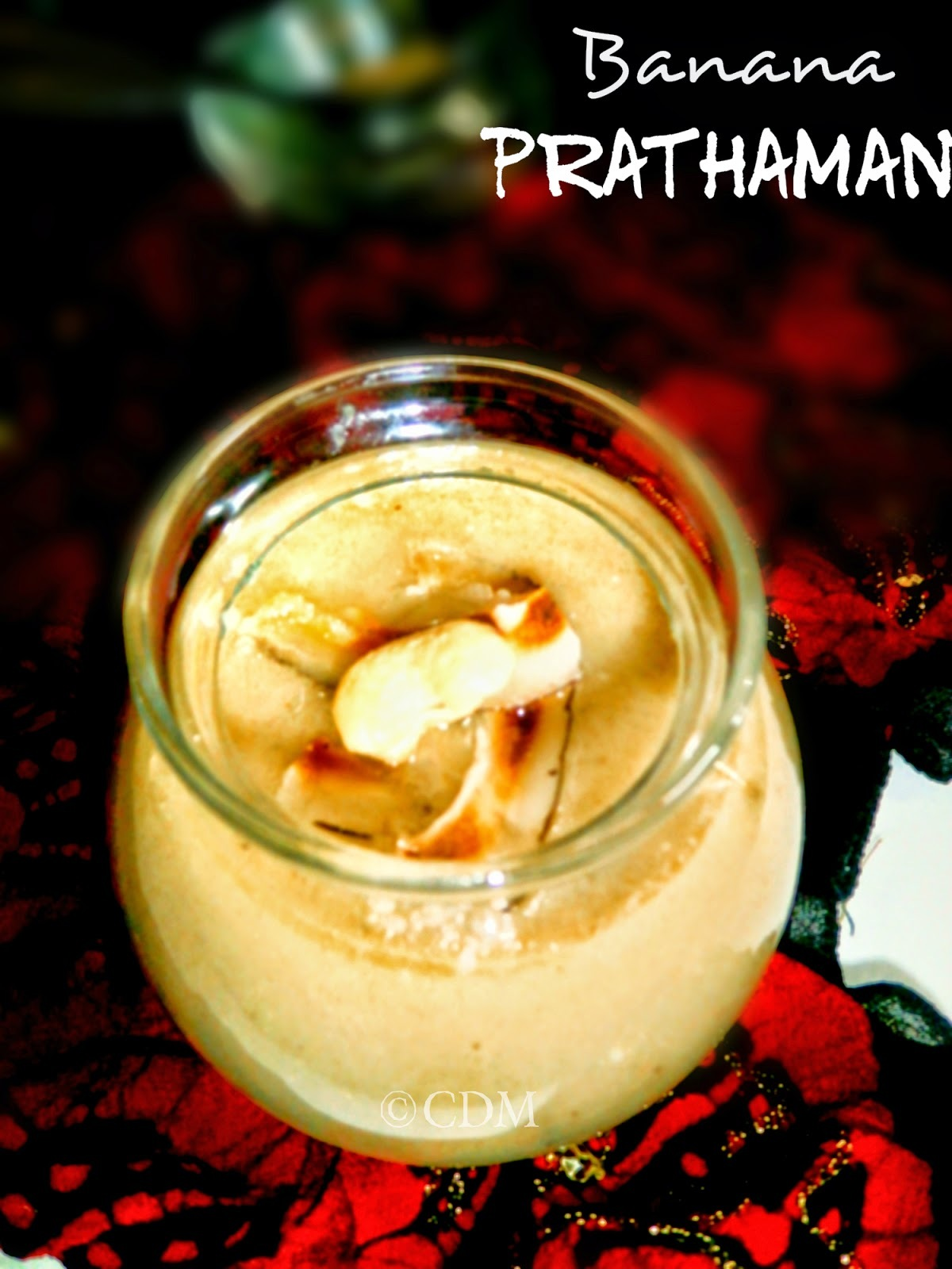 Banana Payasam|Banana dessert Kerala style |Cavendish Bananas in Jaggery and coconut milk