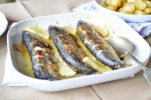 cavala grelhada // grilled mackerel