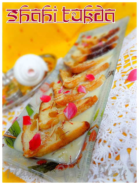 Shahi Tukda/ Bread Pudding
