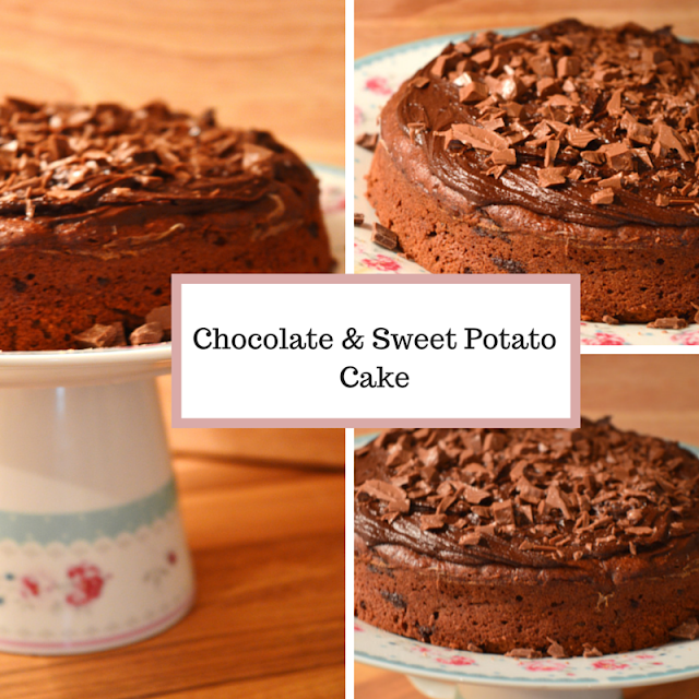 Chocolate & Sweet Potato Cake