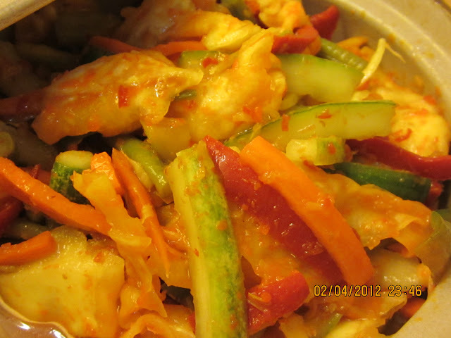 SPICY  MIXED  VEGETABLES  PICKLE  AKA  NYONYA  ACAR