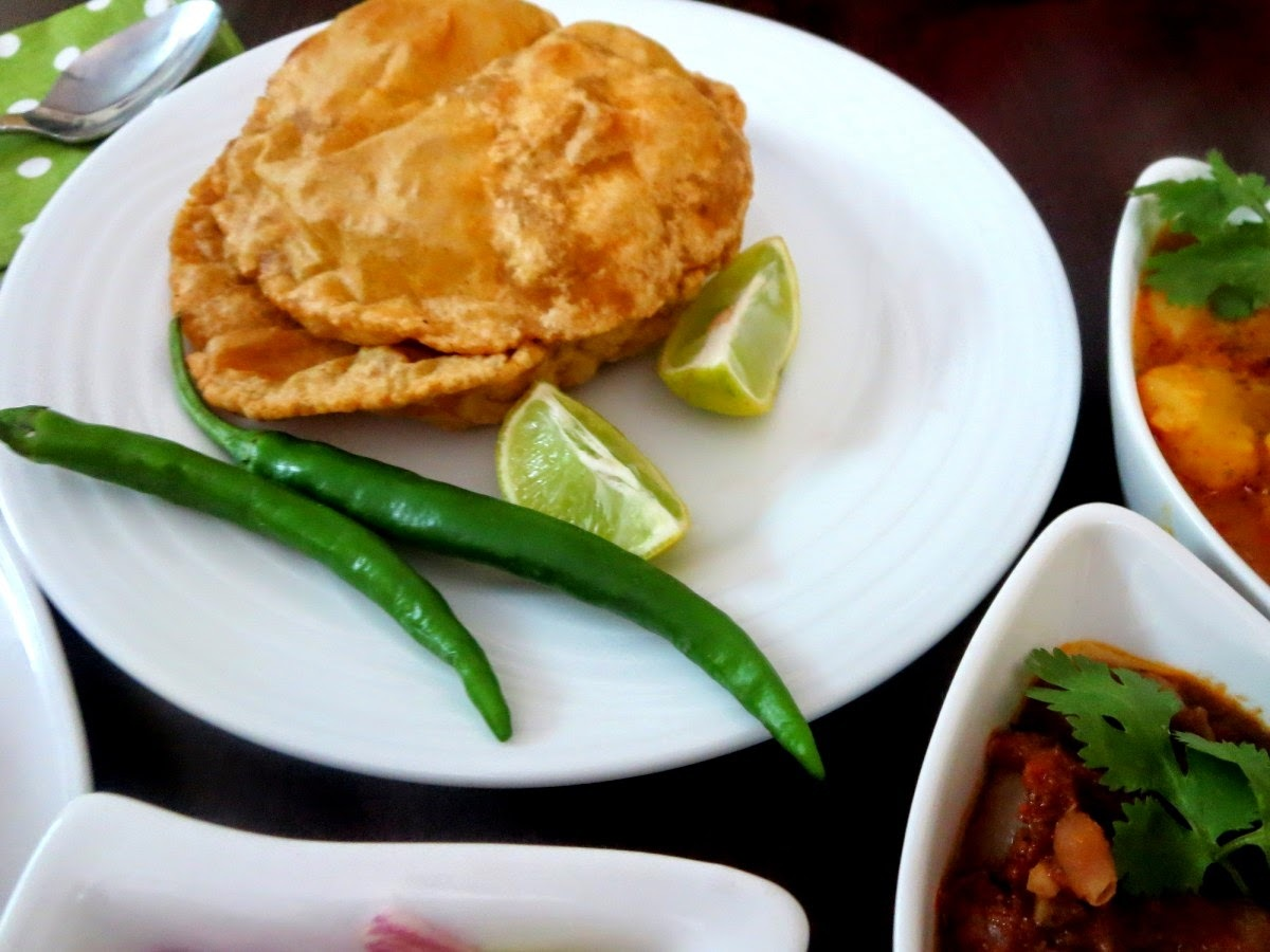 Bedmi Poori | How to make Stuffed Moong Dal Poori