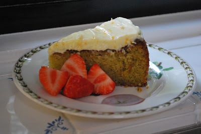 Pistachio and Orange Cake