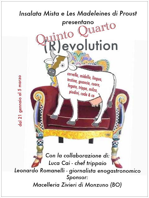 UNA MACEDONIA DI TRIPPA E UN CONTEST: QUINTO QUARTO (R)EVOLUTION