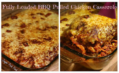 Slimming World Friendly Recipe - Fully Loaded BBQ Pulled Chicken Casserole