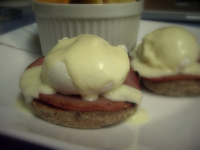 Classic Eggs Benedict with Low-Cal Hollandaise