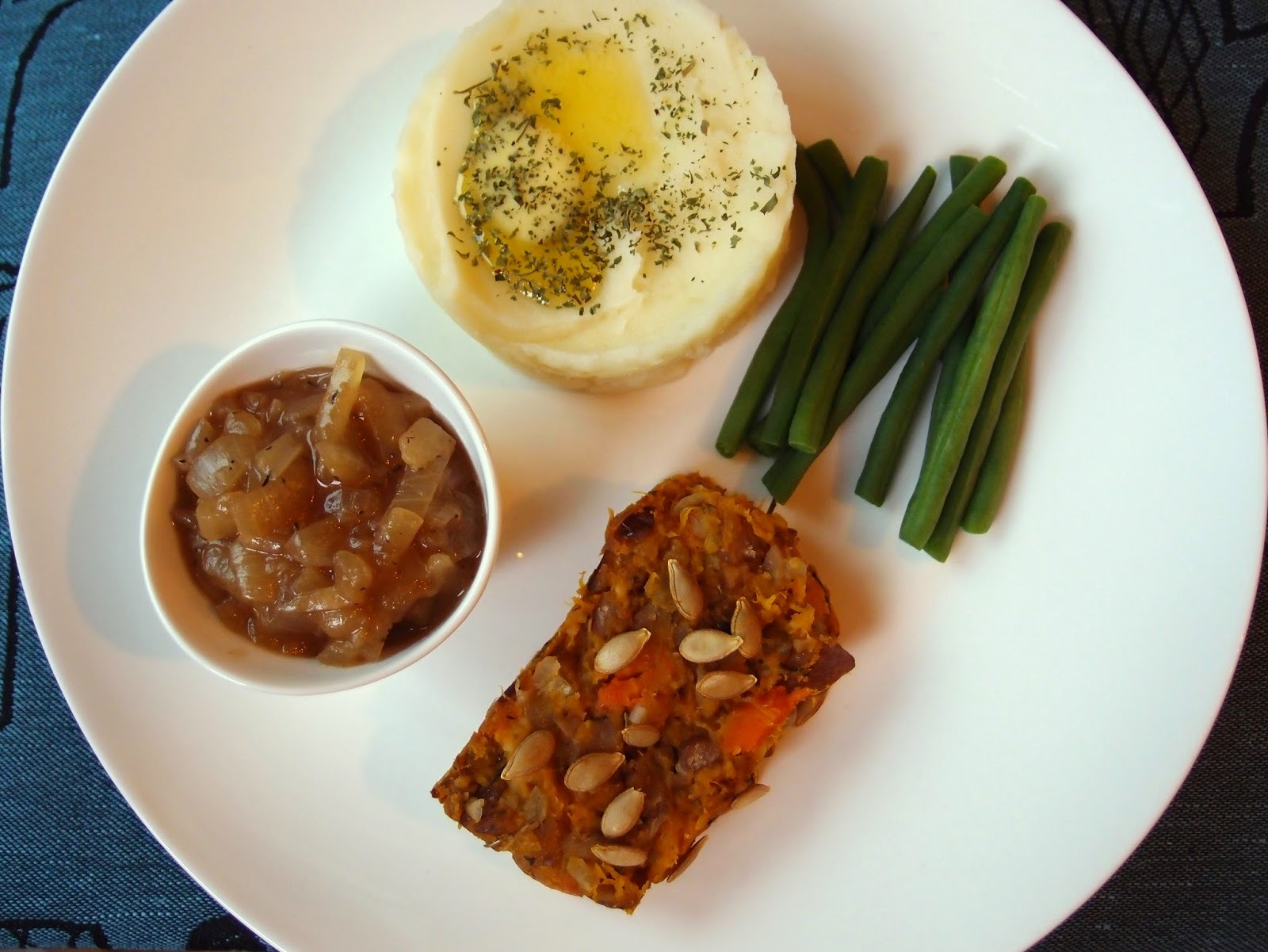 Queen squash nut roast