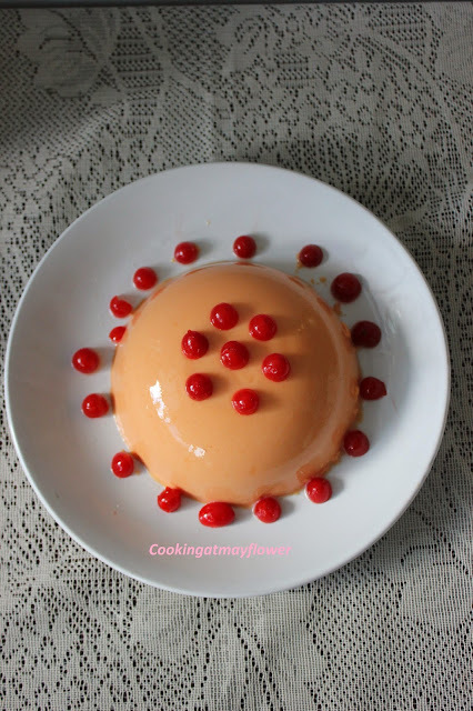 Papaya Pudding / Papaya milk pudding