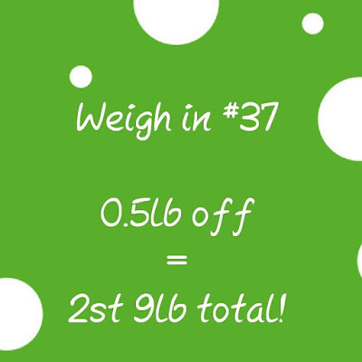 Slimming World weigh in #37 - the one with two in one...