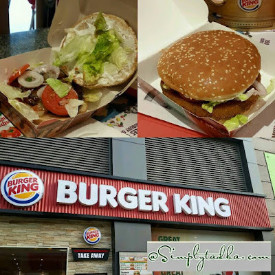 Review for Burger King @ Delhi