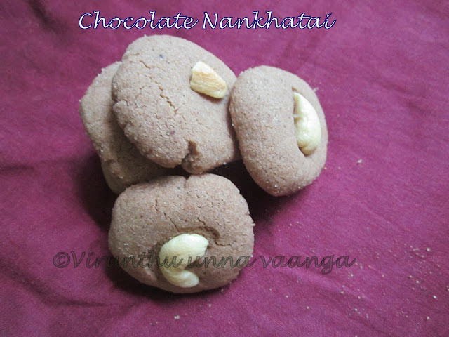 CHOCO NAN KHATAI/INDIAN BUTTER BISCUIT