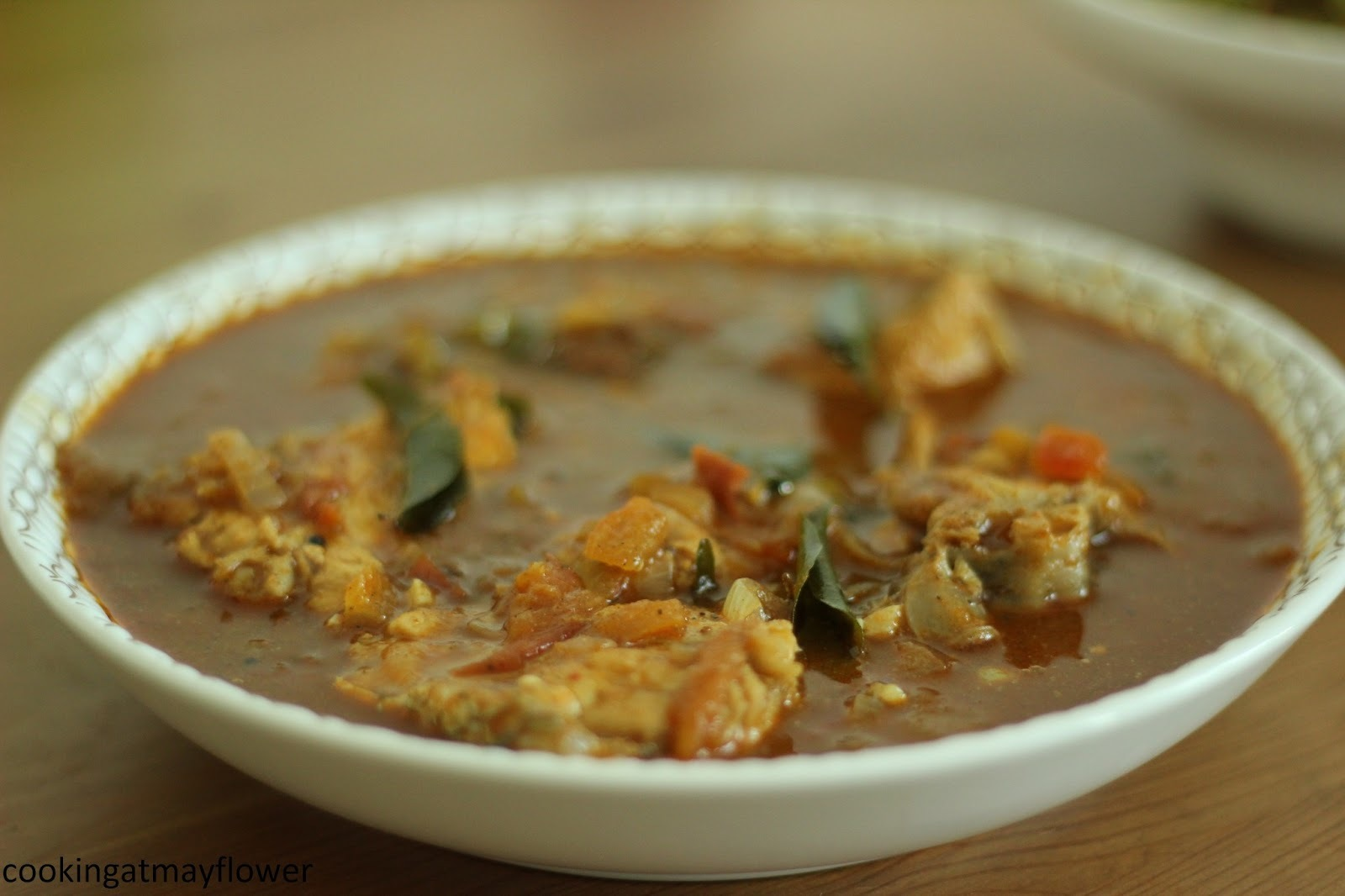 chettinad fish curry without coconut