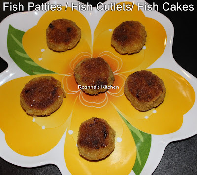 Fish Patties / Fish Cutlets / Fish Cakes