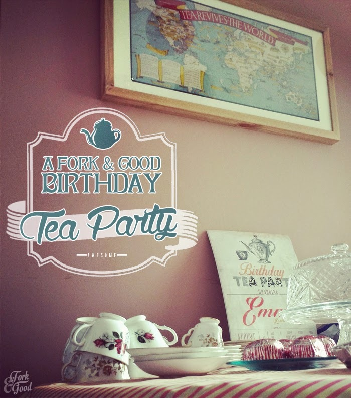 Birthday tea party | Thank fork it's Friday