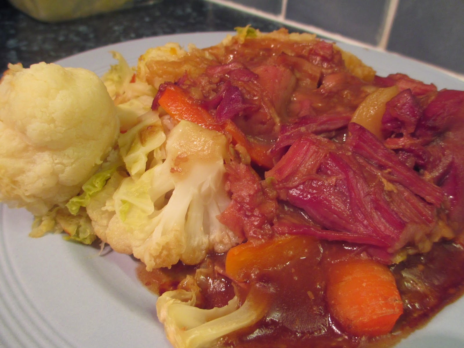 Slow Cooked Gammon