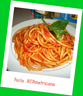 When in Italy. eat PASTA ALL'AMATRICIANA!!!